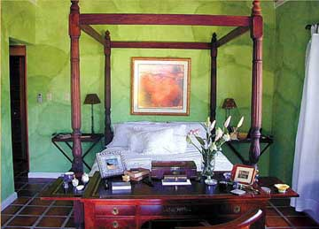 Guest Quarters at the Villa Montana in Puerto Rico